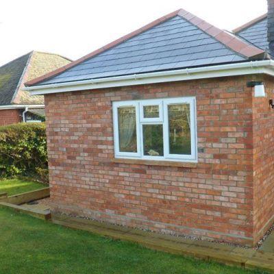 Single Storey Extension & Garage