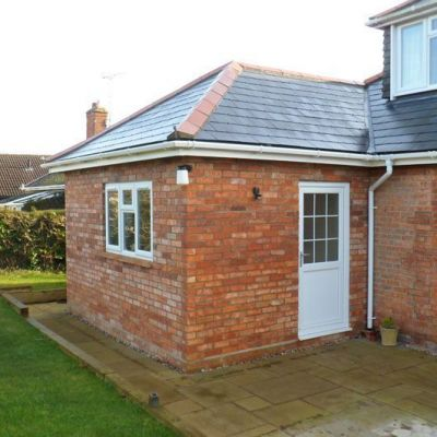 Single Storey Extension & Garage